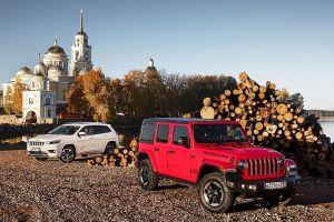 Знакомимся с новым Jeep Wrangler и обновленным Cherokee. Настоящие индейцы
