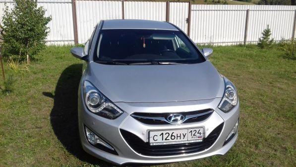 Hyundai i40 2014 - отзыв владельца