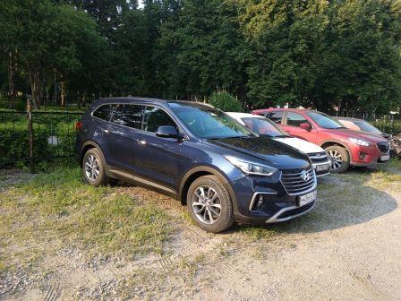 Hyundai Grand Santa Fe 2018 - отзыв владельца