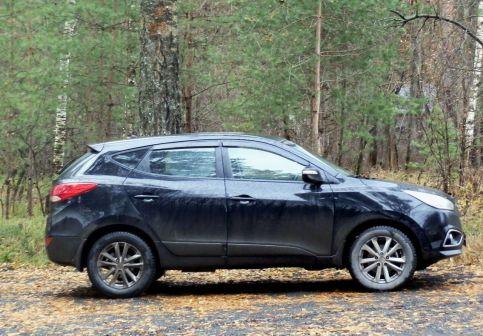 Hyundai ix35 2014 - отзыв владельца