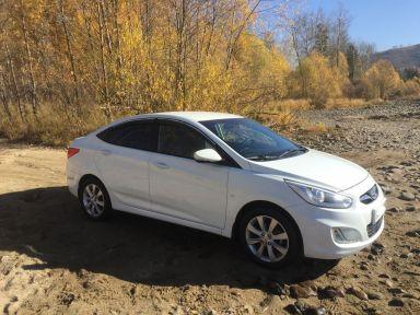 Hyundai Accent 2013 отзыв автора | Дата публикации 07.11.2018.