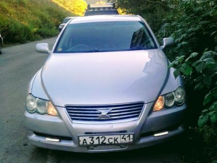 Toyota Mark X 2006 - отзыв владельца