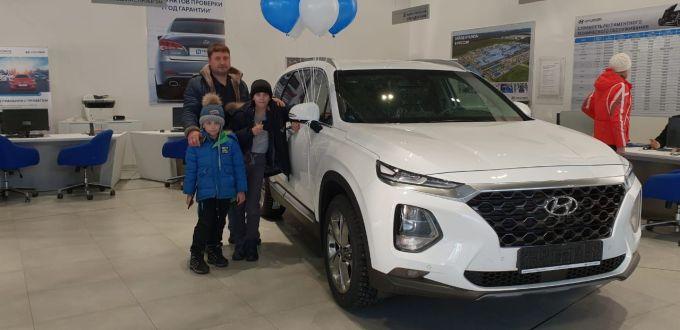 Hyundai Santa Fe, 2018 г.