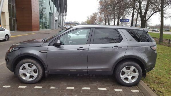 Land Rover Discovery Sport 2015 - отзыв владельца
