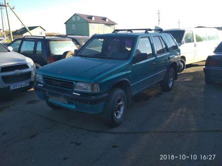 Opel Frontera 1993 - отзыв владельца