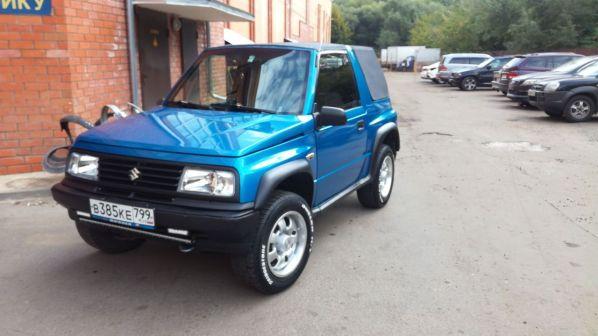 Suzuki Vitara 1992 - отзыв владельца