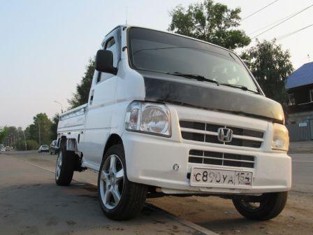 Honda Acty Truck 2008 - отзыв владельца