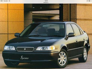 Toyota Sprinter, 1998