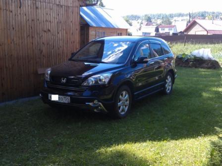 Honda CR-V 2009 - отзыв владельца
