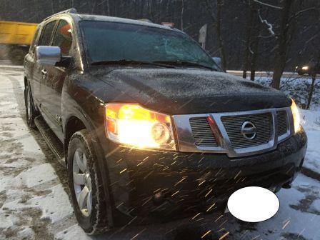 Nissan Armada 2008 - отзыв владельца