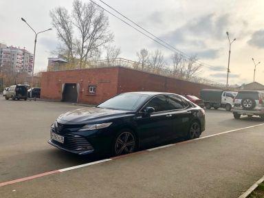 Toyota Camry 2018 отзыв автора | Дата публикации 30.11.2018.