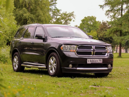 Dodge Durango 2011 - отзыв владельца