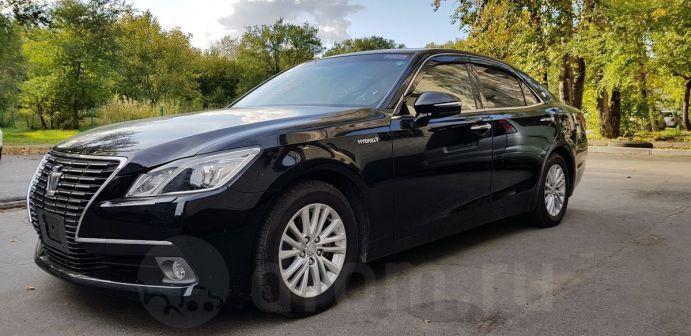 Toyota Crown 2015 - отзыв владельца