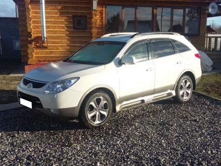 Hyundai ix55 2012 - отзыв владельца