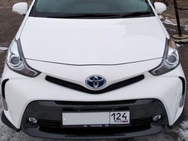 Toyota Prius a 2015 отзыв автора   Дата публикации 16.11.2018.
