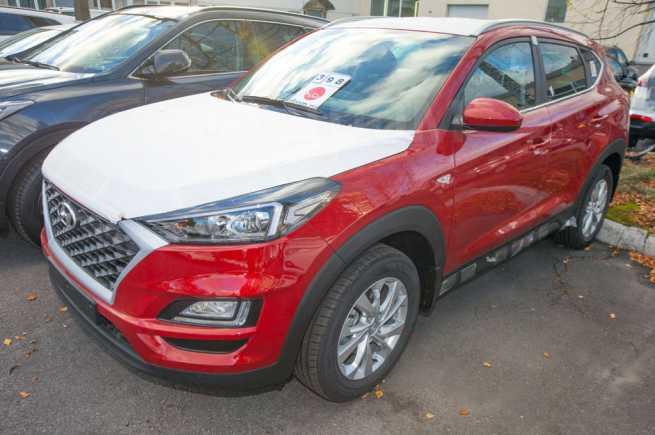 Hyundai Tucson, 2018 год, 1 762 900 руб.