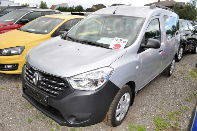 Renault Dokker, 2018 год, 1 014 260 руб.