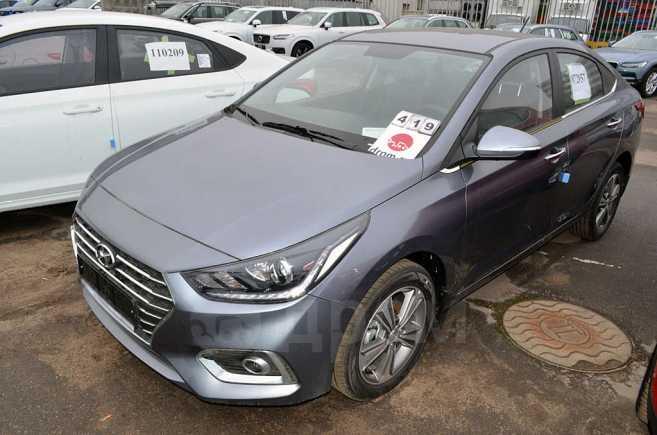 Hyundai Solaris, 2018 год, 992 000 руб.