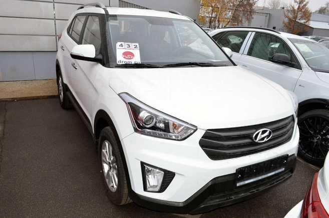 Hyundai Creta, 2018 год, 1 452 500 руб.