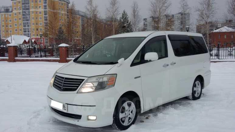 Toyota Alphard, 2008 год, 1 040 000 руб.