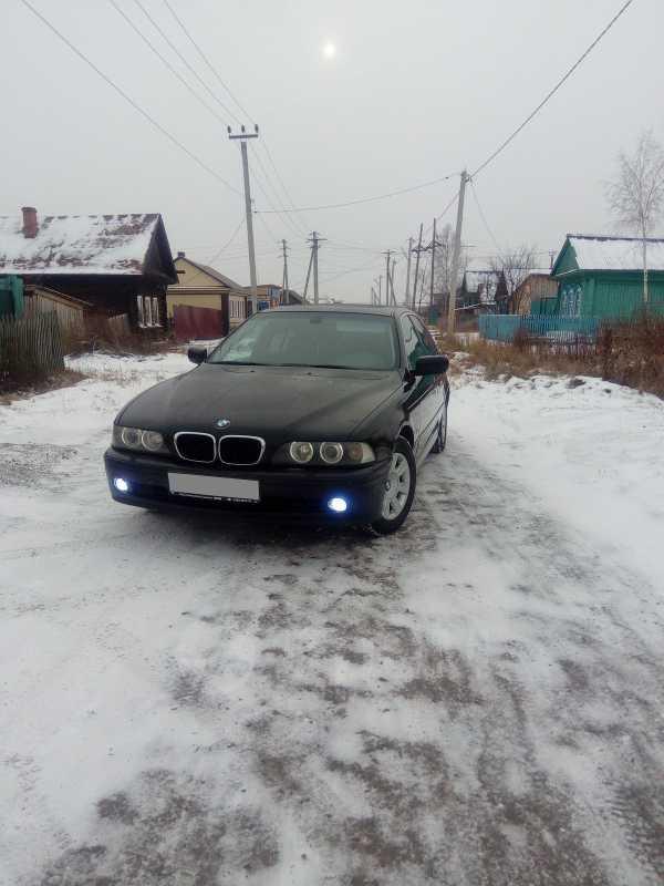 BMW 5-Series, 2002 год, 390 000 руб.