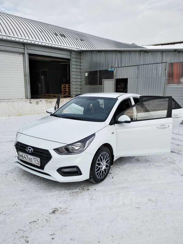 Hyundai Solaris, 2017 год, 755 000 руб.