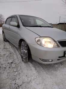 Ишим Corolla Runx 2001