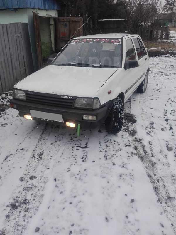 Toyota Starlet, 1985 год, 90 000 руб.