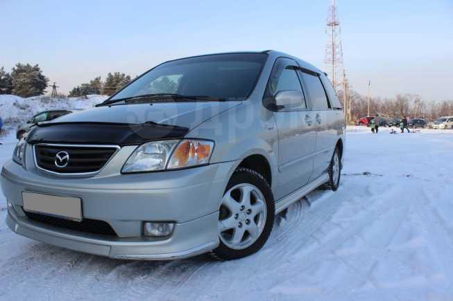 Mazda MPV, 2001 год, 385 000 руб.