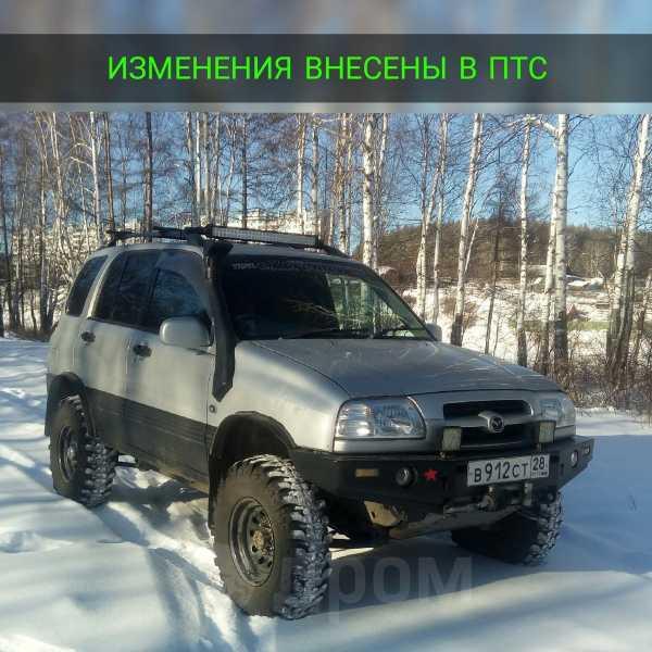 Suzuki Escudo, 1997 год, 490 000 руб.
