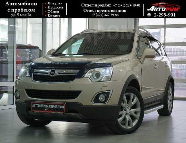 Opel Antara, 2012 год, 917 000 руб.