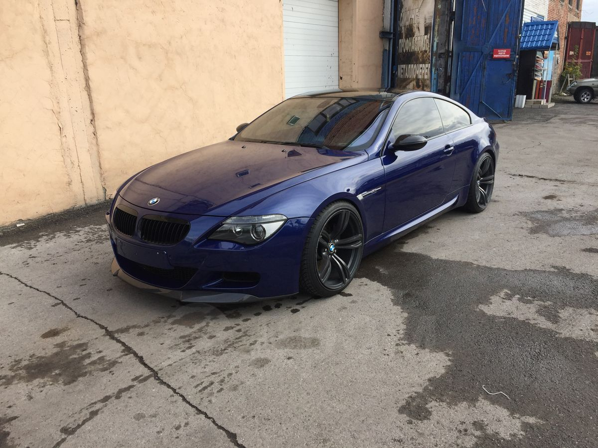 Bmw M6 Blau Metallic