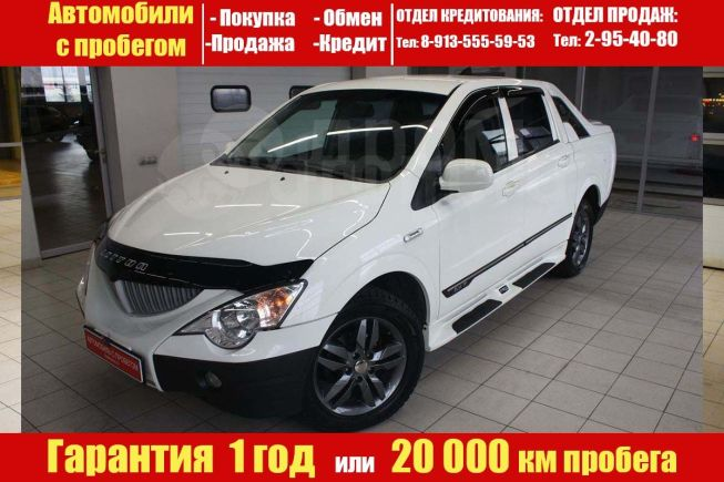 SsangYong Actyon Sports, 2011 год, 557 000 руб.
