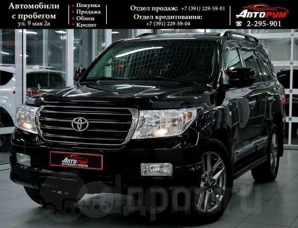 Toyota Land Cruiser, 2011 год, 2 097 000 руб.