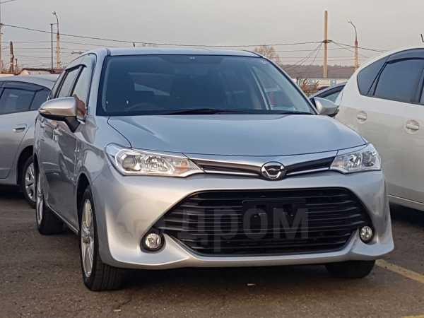 Toyota Corolla Fielder, 2015 год, 847 000 руб.