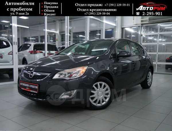 Opel Astra, 2012 год, 497 000 руб.