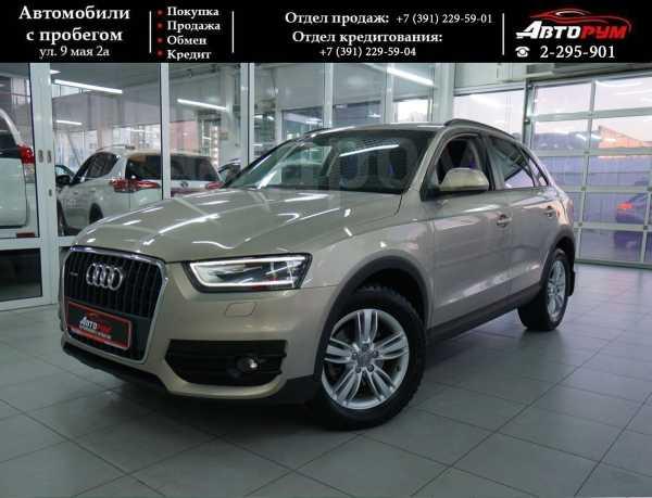 Audi Q3, 2012 год, 1 097 000 руб.