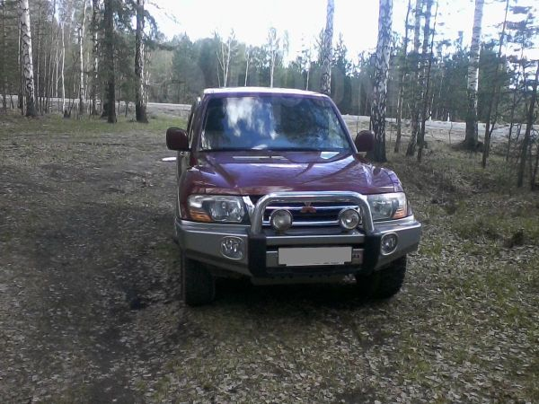 Mitsubishi Pajero, 2002 год, 510 000 руб.