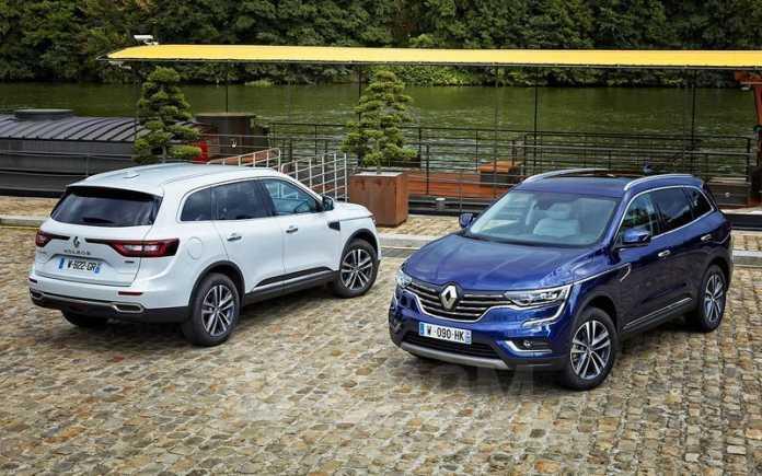 Renault Koleos, 2018 год, 1 848 000 руб.