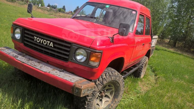 Toyota Land Cruiser, 1989 год, 270 000 руб.