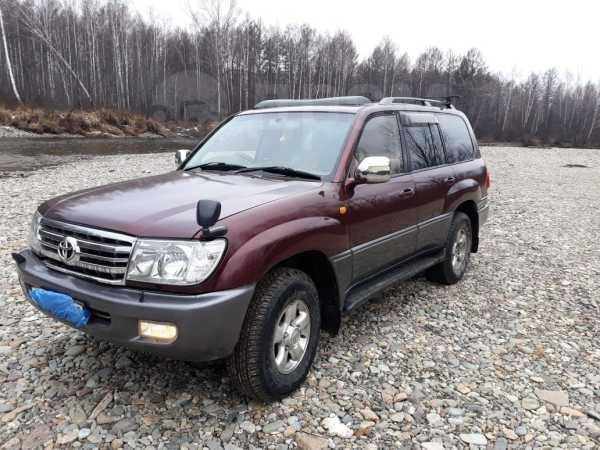 Toyota Land Cruiser, 2002 год, 670 000 руб.