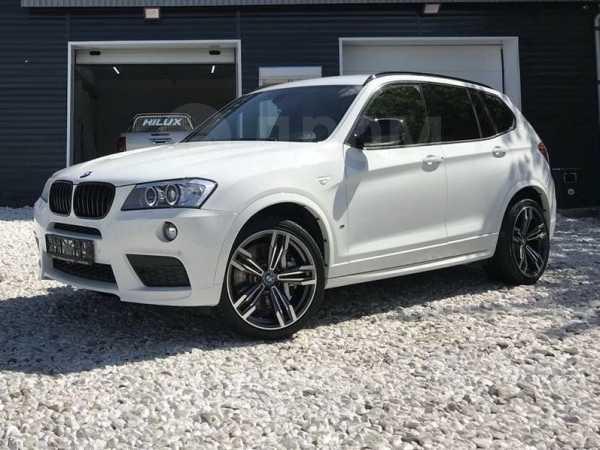 BMW X3, 2013 год, 1 700 000 руб.