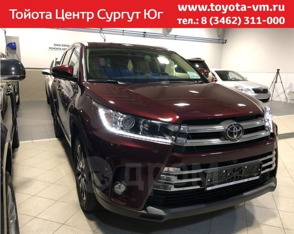 Toyota Highlander, 2018 год, 3 798 000 руб.