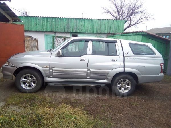 SsangYong Musso Sports, 2005 год, 390 000 руб.