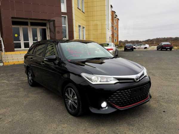 Toyota Corolla Fielder, 2016 год, 945 000 руб.
