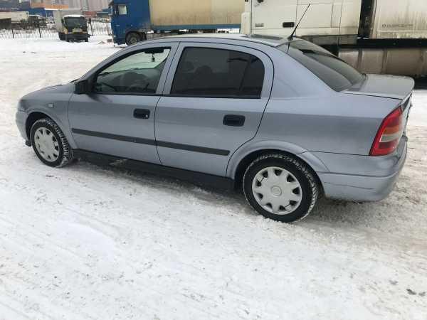 Opel Astra, 2003 год, 198 000 руб.