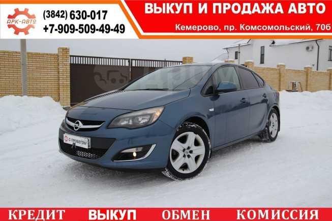 Opel Astra, 2013 год, 499 000 руб.