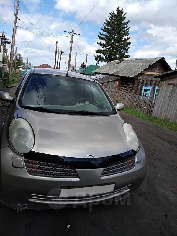 Nissan Micra, 2004 год, 240 000 руб.