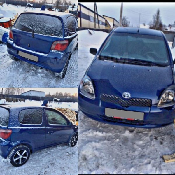 Toyota Yaris, 2002 год, 179 000 руб.