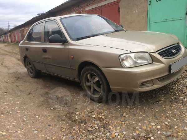 Hyundai Accent, 2004 год, 90 000 руб.